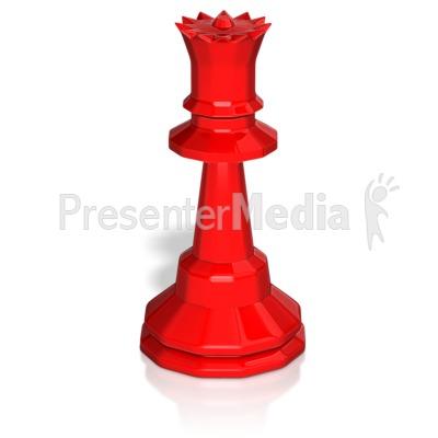Queen Chess Piece PowerPoint Clip Art