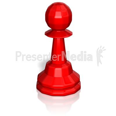 Pawn Chess Piece PowerPoint Clip Art