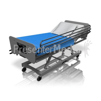 Hospital Bed - Presentation Clipart - Great Clipart for ...