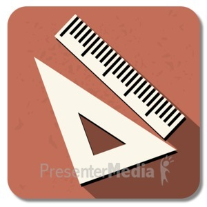 ID# 13849 - Geometry Square Icon - Presentation Clipart