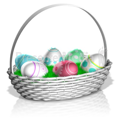 Easter basket presentation clipart great clipart for easter basket presentation clipart negle Gallery