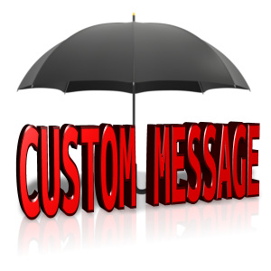ID# 14054 - Custom Text Shelter - Presentation Clipart