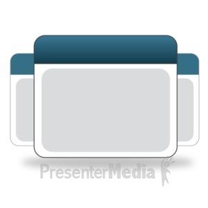 ID# 14088 - Calendar Group Icon - Presentation Clipart