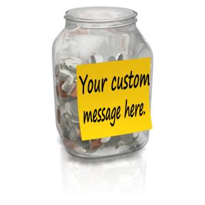 ID# 14147 - Coin Jar Custom - Presentation Clipart
