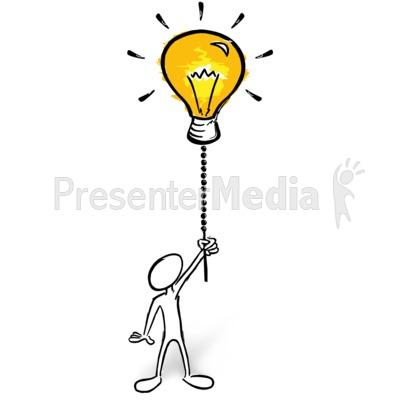 Turn The Creativity On PowerPoint Clip Art