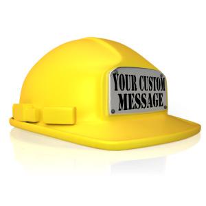 ID# 14203 - Custom Hard Hat - Presentation Clipart