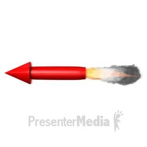ID# 14307 - Rocket Propulsion - Presentation Clipart