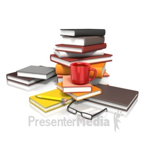 ID# 14376 - Education Coffee Study - Presentation Clipart