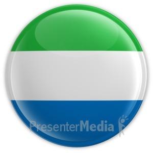ID# 14457 - Sierra Leone Badge - Presentation Clipart