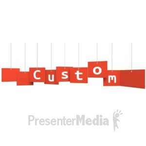 ID# 14482 - Custom Multi Level Sign - Presentation Clipart