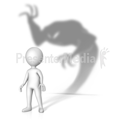 Theres A Demon About PowerPoint Clip Art