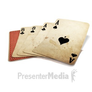ID# 14654 - Dead Mans Hand - Presentation Clipart