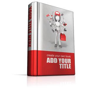 ID# 14769 - Custom Upright Book - Presentation Clipart