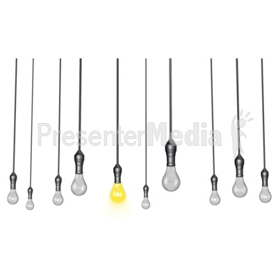 id hanging lights standout clipart