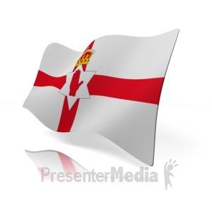 ID# 14824 - Northern Ireland Flag - Presentation Clipart