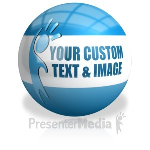 ID# 14887 - Sphere Custom - Presentation Clipart