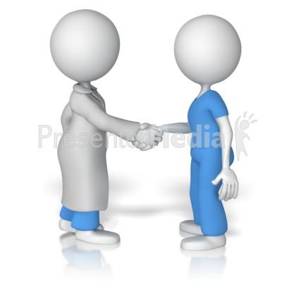 Doctor shake hands with nurse presentation clipart great clipart doctor shake hands with nurse presentation clipart toneelgroepblik Images