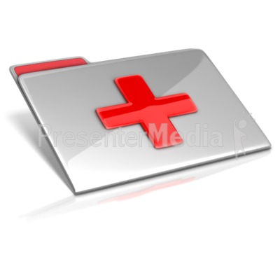 Medical File PowerPoint Clip Art