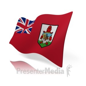 ID# 15047 - Bermuda Flag - Presentation Clipart