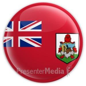 ID# 15048 - Bermuda Badge - Presentation Clipart