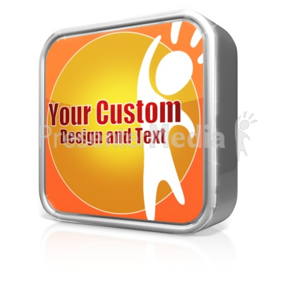 Custom App Icon Presentation clipart