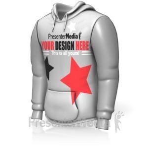 ID# 15158 - Custom Sweatshirt - Presentation Clipart