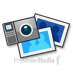 ID# 15190 - Camera Snapshot Photo - Presentation Clipart
