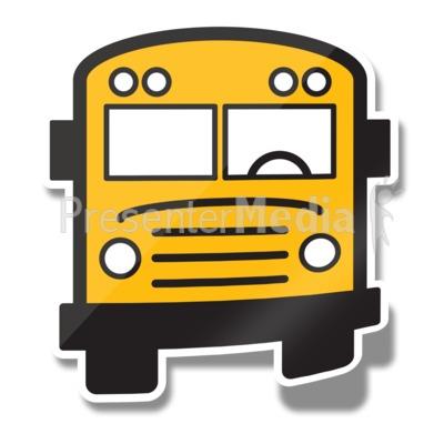 school bus icon sticker education and school great Bus Evacuation Drill Clip Art Classic School Bus Clip Art