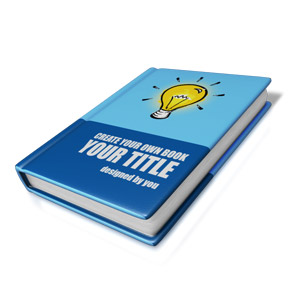 ID# 15318 - Custom Book Cover - Presentation Clipart