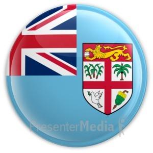ID# 15330 - Fiji Badge - Presentation Clipart