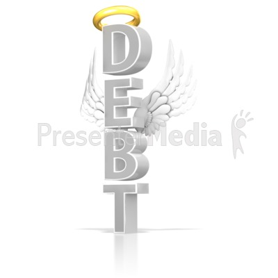 Good Debt PowerPoint Clip Art