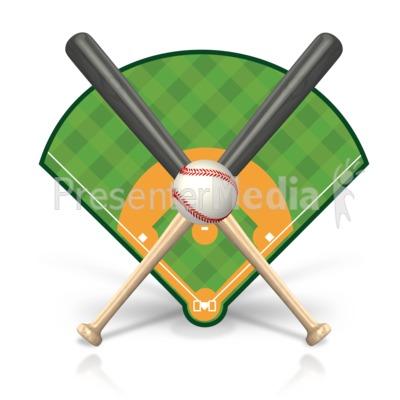baseball field icon presentation clipart great clipart for rh presentermedia com free clipart baseball field baseball fielder clipart