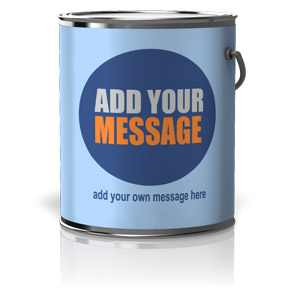 ID# 15579 - Custom Paint Can - Presentation Clipart