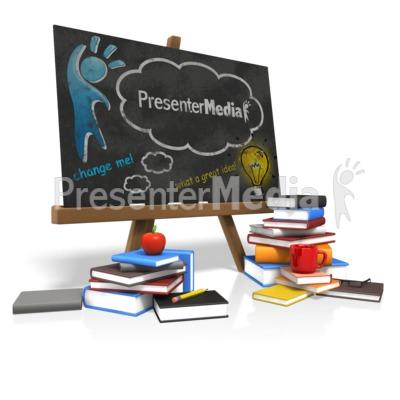 Custom Blackboard Presentation clipart