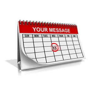 ID# 15731 - Custom Calendar Month - Presentation Clipart