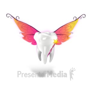 ID# 15741 - Tooth Fairy - Presentation Clipart