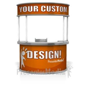 ID# 15744 - Help Desk Custom - Presentation Clipart