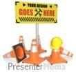 ID# 15781 - Custom Construction Sign - Presentation Clipart