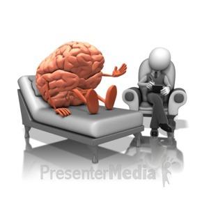 ID# 15912 - Brain Therapy - Presentation Clipart