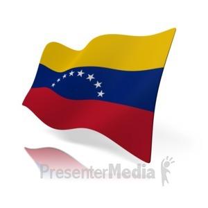 ID# 15944 - Venezuela Flag - Presentation Clipart
