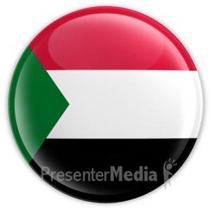 ID# 16180 - Sudan Badge - Presentation Clipart