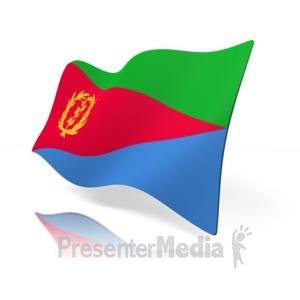 ID# 16205 - Eritrea Flag - Presentation Clipart