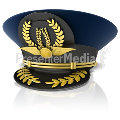 Pilots Cap - Presentation Clipart - Great Clipart for ...