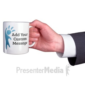ID# 16312 - Business Coffee Mug Custom - Presentation Clipart
