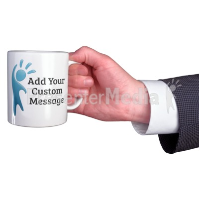 Business Coffee Mug Custom Presentation clipart