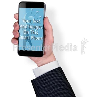 Smart Phone Business Custom Presentation clipart
