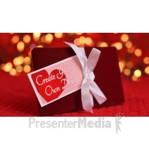 ID# 16360 - Valentine Gift Custom - Presentation Clipart