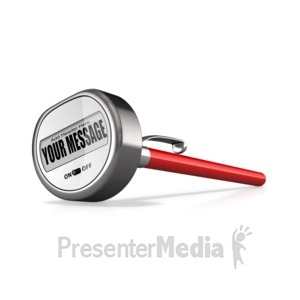 ID# 16361 - Custom Chef Themometer - Presentation Clipart