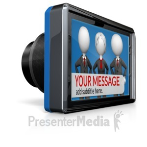 ID# 16487 - Custom Camera Screen - Presentation Clipart