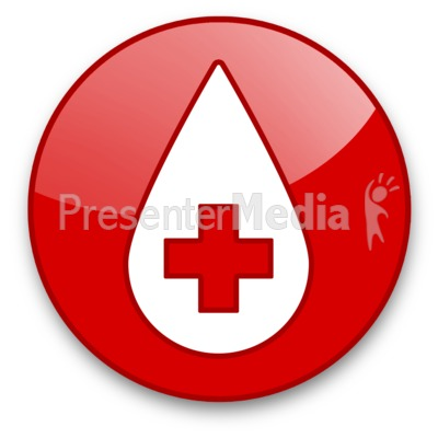 Medical measure toolkit a powerpoint template from presentermedia id 16612 blood drop button presentation clipart toneelgroepblik Image collections